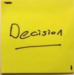 decision sticky